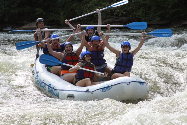 Rapids with Cherokee Rafting Polk County / Ocoee Region
